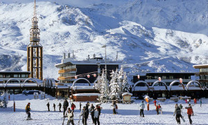 Skiing with a Family in Europe